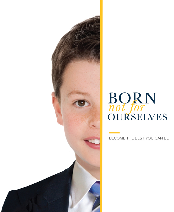 Born not for ourselves. Become the best you can be