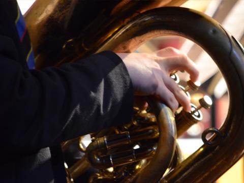 Young Musicians Entertain