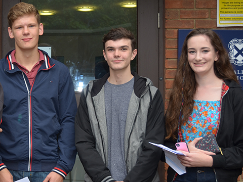 Record A Level Results
