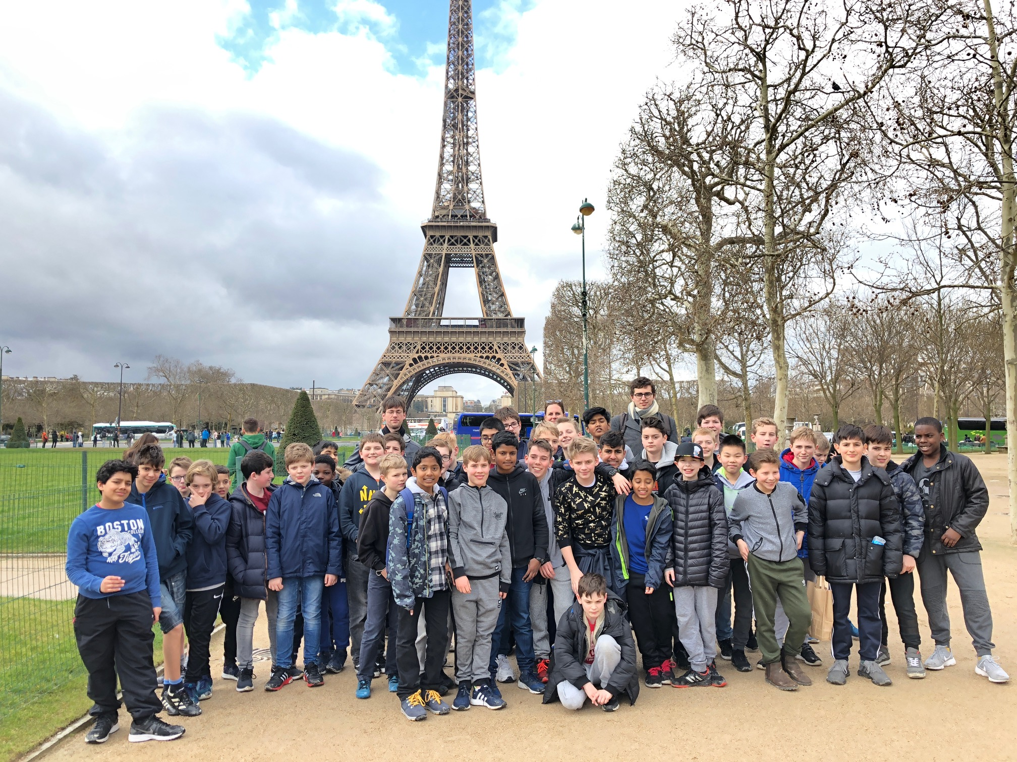 First and Second Formers Take on Paris