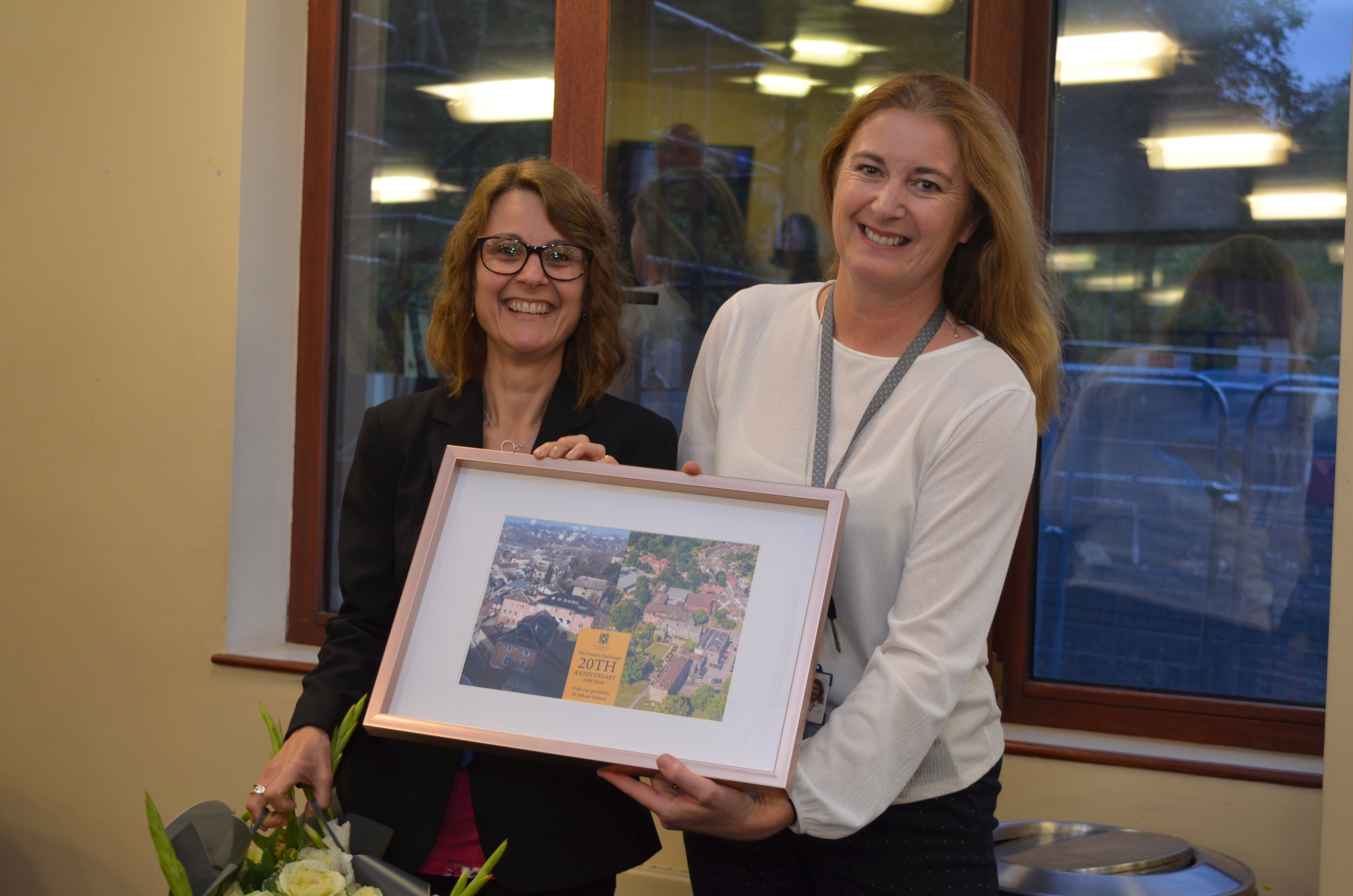 20th anniversary of the School's French Exchange Programme